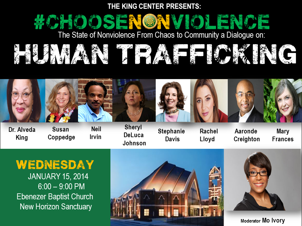 Choose Nonviolence Human Trafficking Dialogue