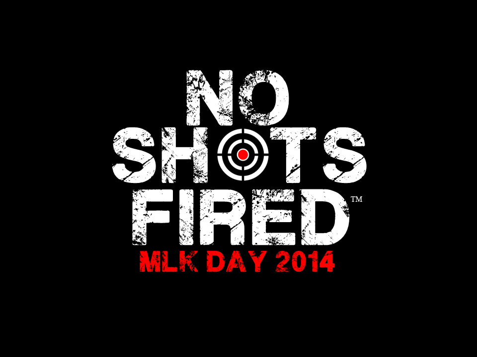 Download the No Shots Fired Logo and upload it to your social media profile pictures