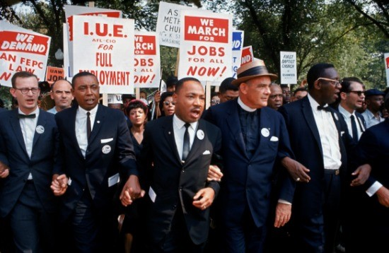 Dr. King Marching